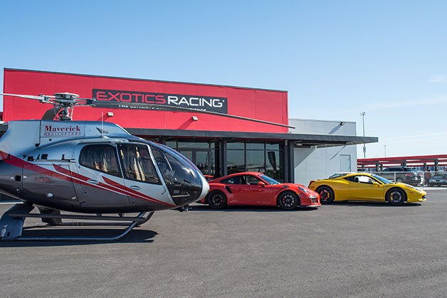 Available Racing Dates For Exotics Racing At The Las Vegas